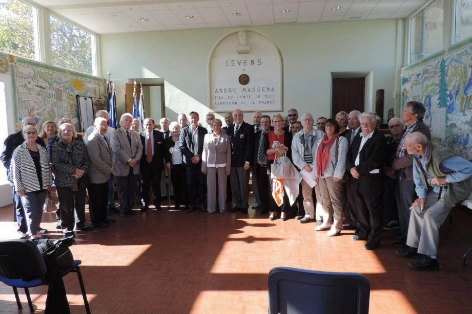La section levensoise, qui a tenu son assemblée générale, se porte bien, comptant plus de 80 membres dans ses rangs. (DR)