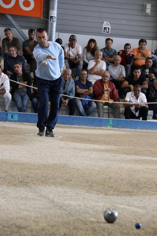 Le Monégasque Patrick Hervo, déjà vainqueur du tournoi il y a trois ans.