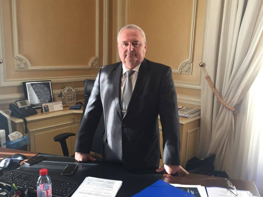 Jean-Pierre Savarino, président de la CCI Nice Côte d'Azur : «Le manque à gagner serait de 3 ME pour nous, c'est autant que les entreprises ne verraient pas en accompagnement et aides.»