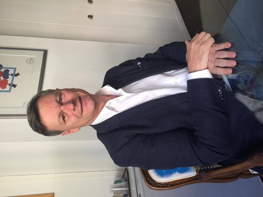 Philippe Renaudi, président de l'UPE06.