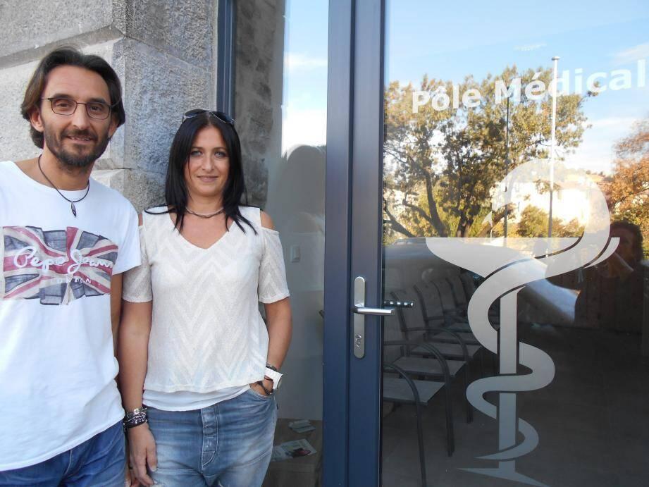 Jean-Daniel et Christine Fortore-Crubézy, à l'origine du pôle médical.
