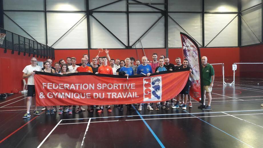 Les participants ont joué pas moins de 80 rencontres au gymnase de l'UFR STAPS à Nice.