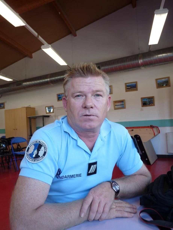 Christophe Olivier a mis en place les « copains vigilants » au collège de La Colle-sur-Loup il y a un an et dernièrement au Rouret.