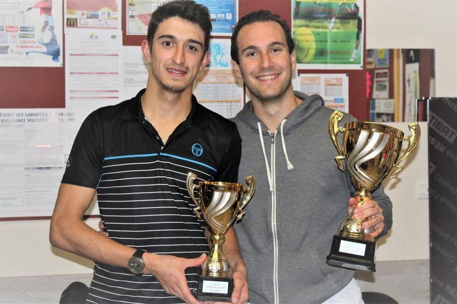 Diego Vasquez (à gauche) et Dorian Robert, les deux finalistes.