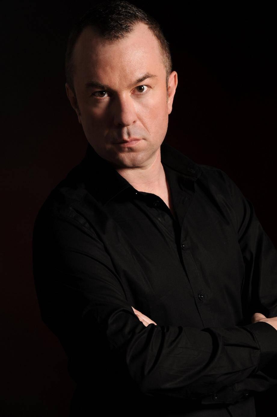 L'organiste, Olivier Vernet est le directeur artistique du Festival d'orgue de Mougins.(DR)