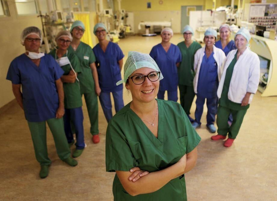 Vanessa Mathieu-Guerini,  gynécologue formée à cette chirurgie, appelée également lipomodelage.