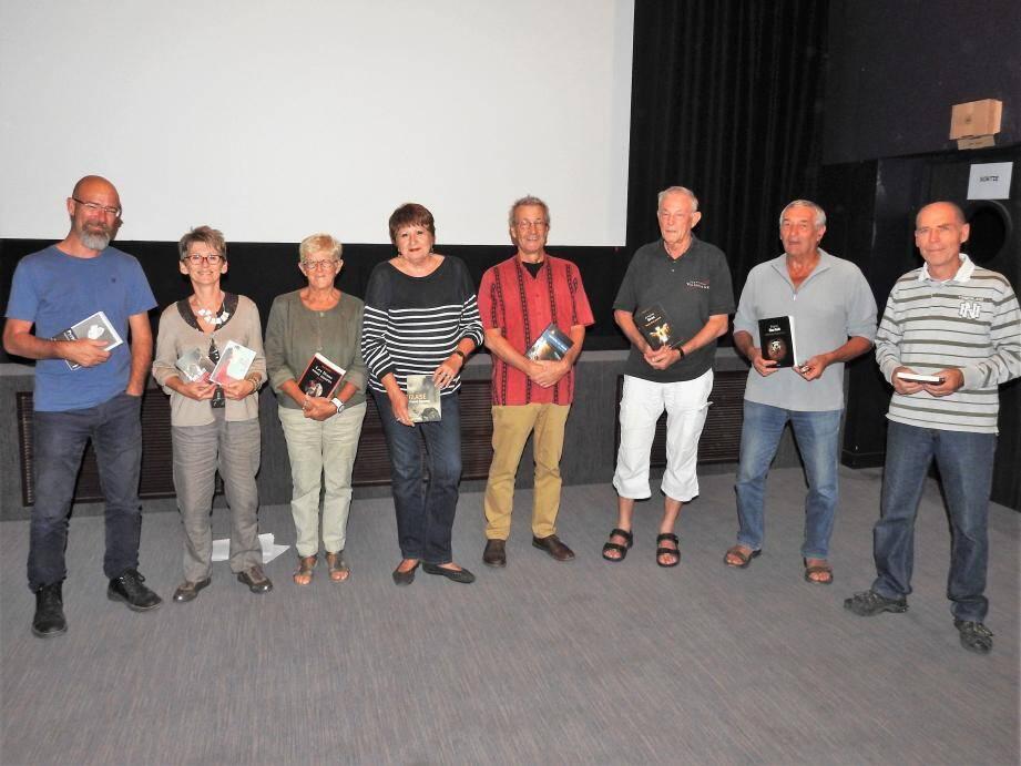 Quelques jurés se sont réunis lors de la diffusion de films issus de romans noirs.