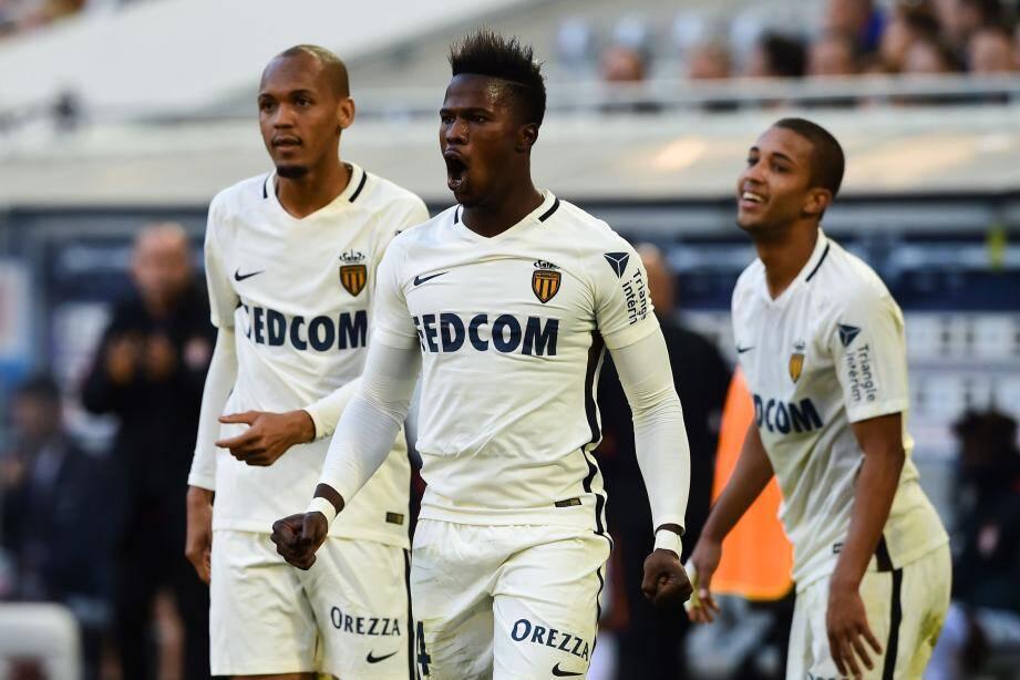 Keita Baldé de nouveau buteur avec l'AS Monaco une semaine après son but contre Caen au Louis-II.