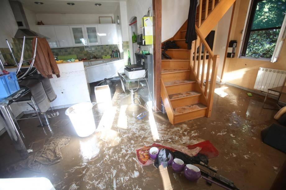 Les inondations du 3 octobre 2015 avaient particulièrement touché l'ouest du département, dont la commune de Biot.