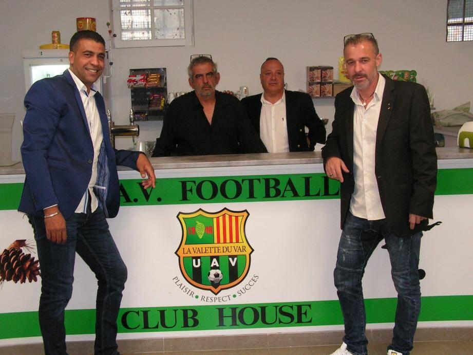Mounir Essouldi (à gauche) et Patrice Brogi (à d.) peuvent être satisfaits. Les efforts ont payé.
