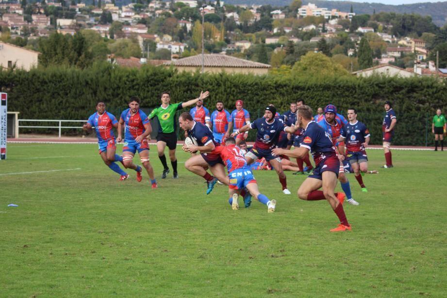 Après la perte du derby, le week-end dernier face au RCHCC, les Seynois ont subi une nouvelle désillusion hier à Grasse.