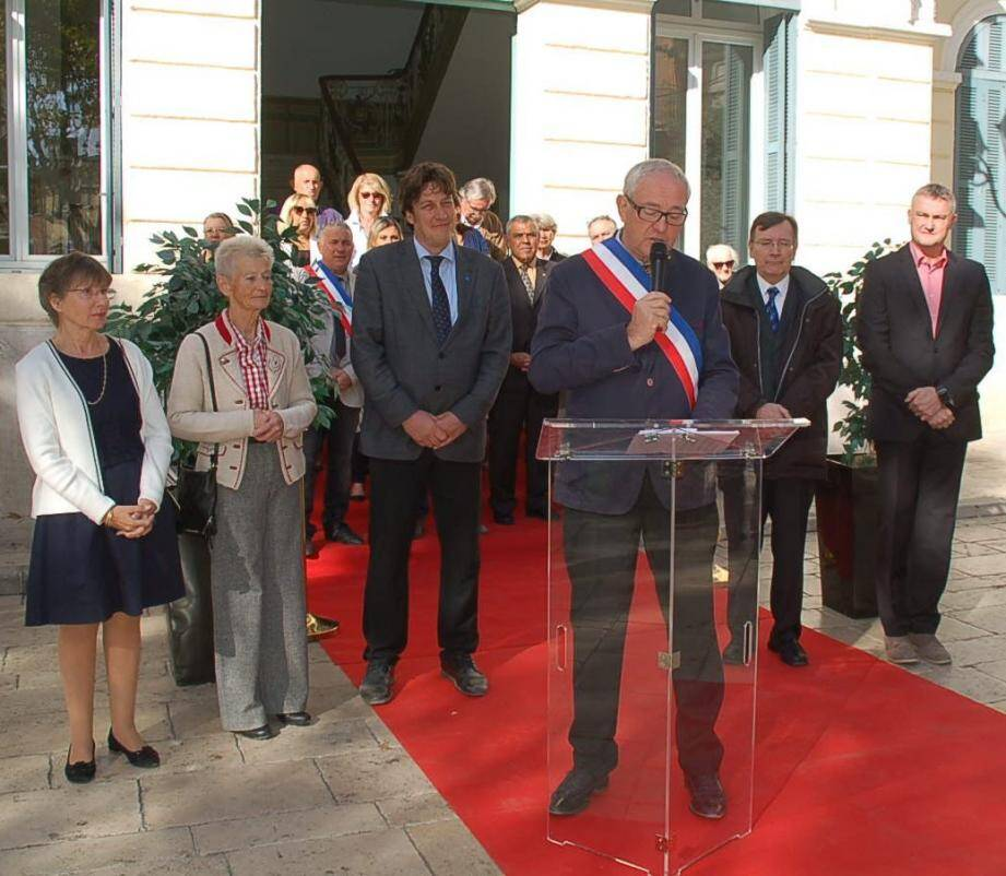 Le maire Georges Ferrero a procédé à une courte rétrospective.