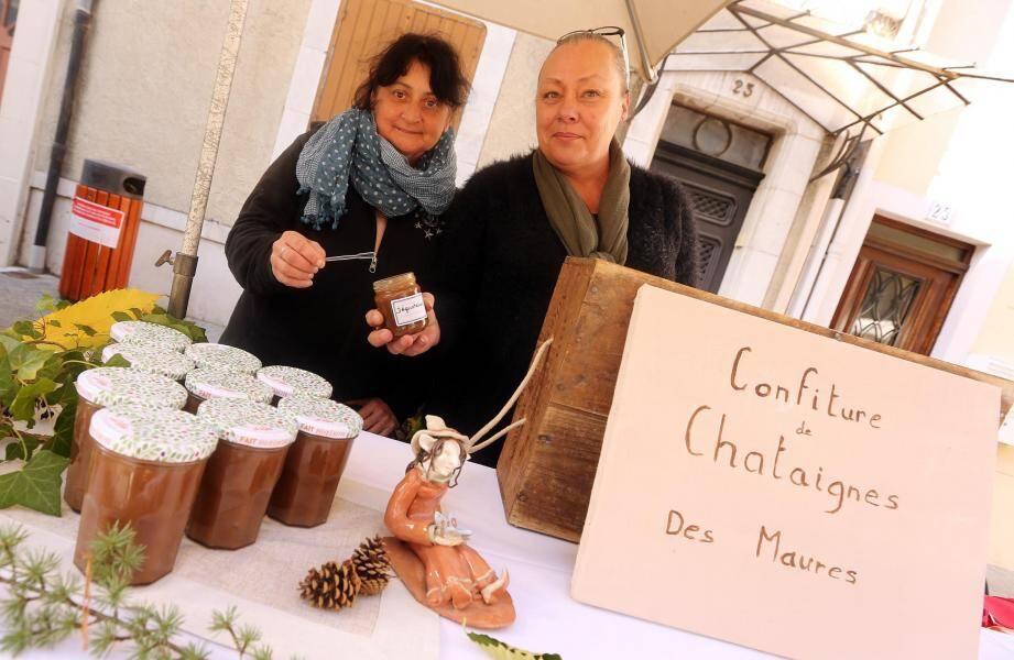 Carole et Florence, spécialistes de la confiture.