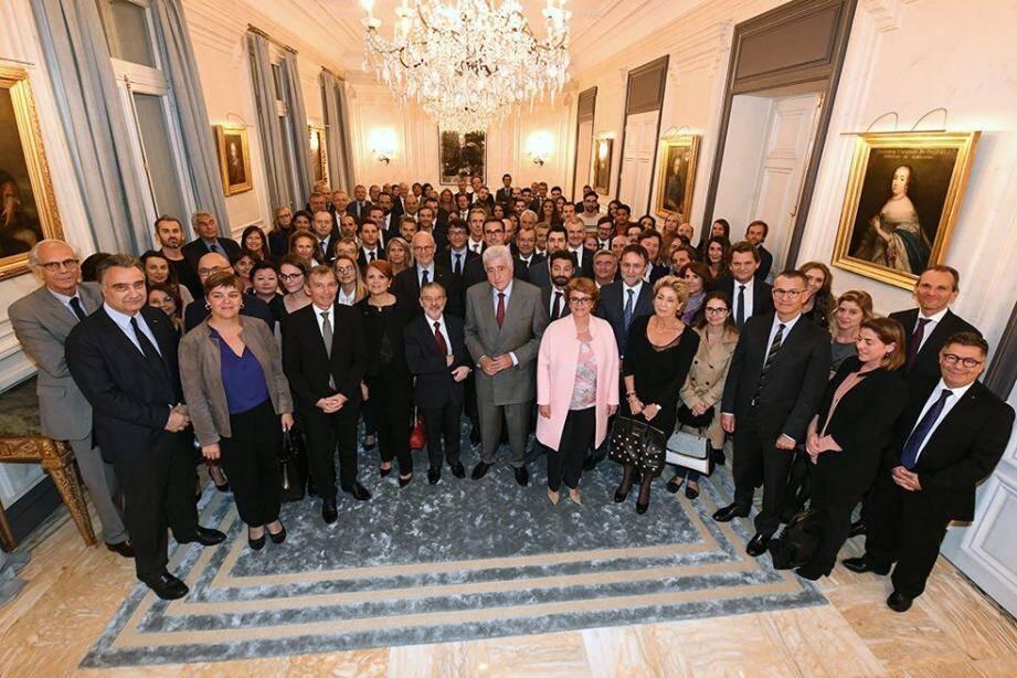 Le ministre d'Etat a reçu ceux qui œuvrent pour que Monaco conserve sa richesse intellectuelle, favorisant notamment le retour de jeunes expatriés.(DR)