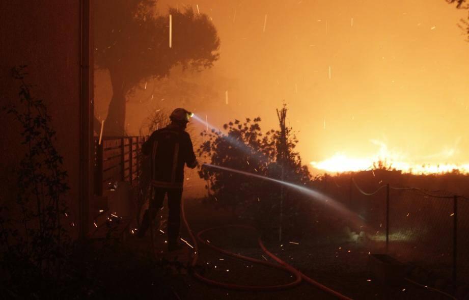 Ces derniers jours, une vingtaine de départs de feux ont été enregistrés.