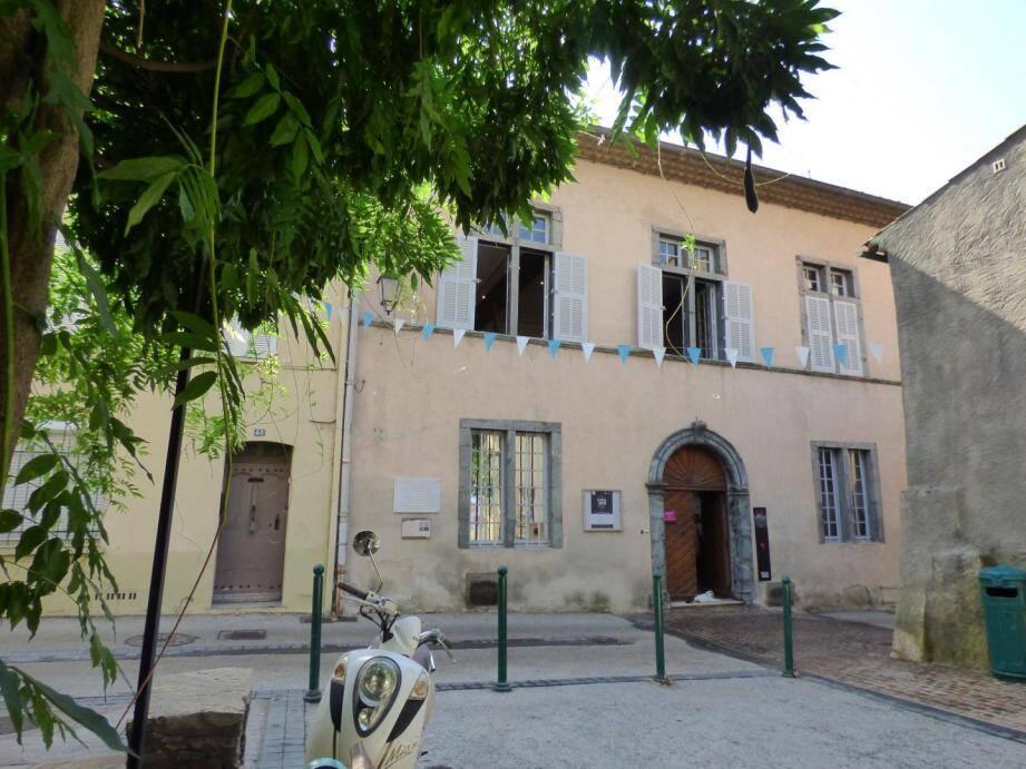 La Maison Sellier à Cogolin.