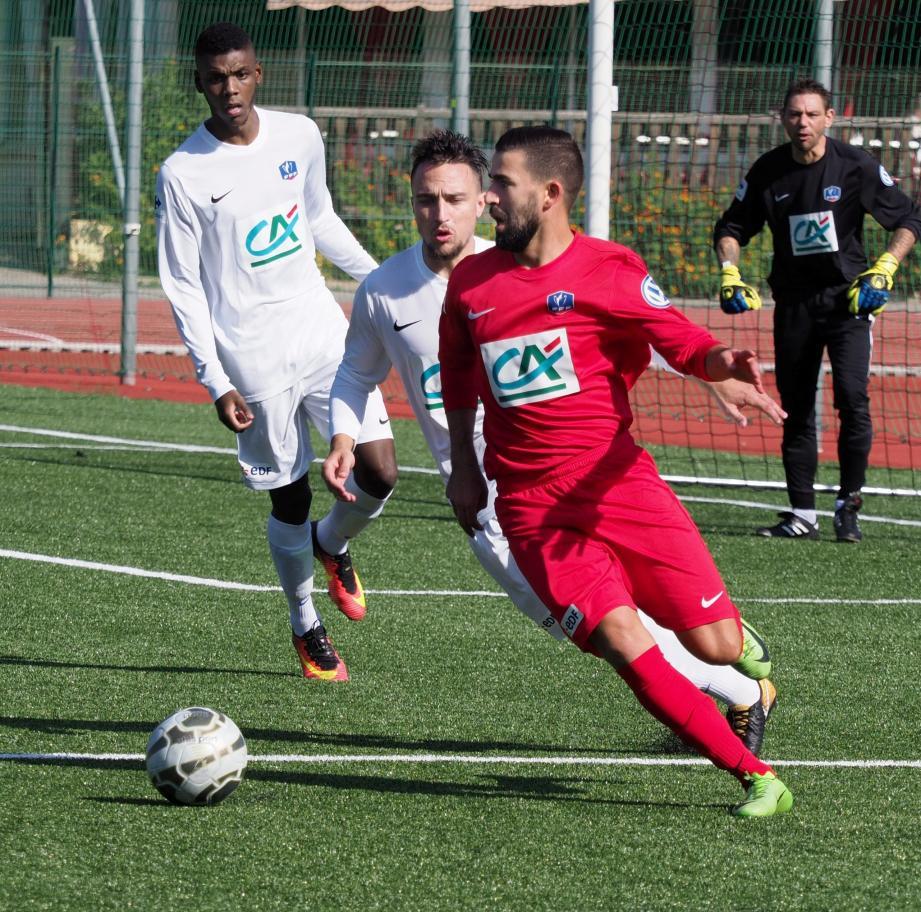 Lahcen Larbi et les Cagnois iront défier le Stade Marseillais.