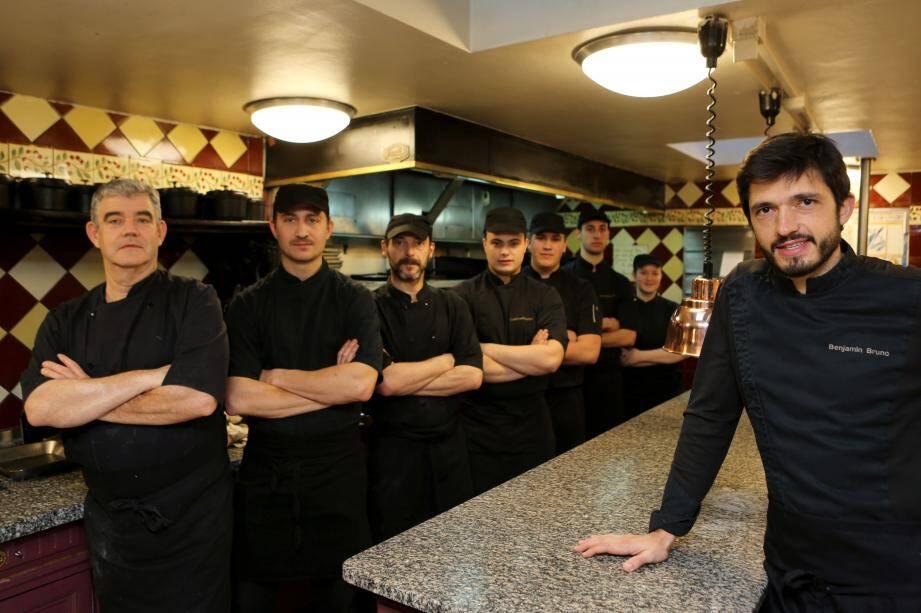 """Le restaurant """"Chez Bruno""""."""
