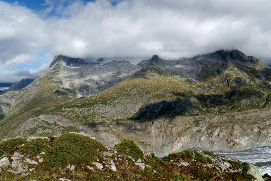 Image d'illustration du glacier d'Aletsch, dans les Alpes suisses.