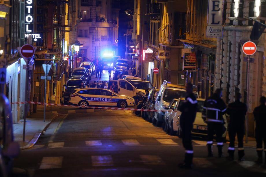 Les hommes du Raid sont intervenus dans le quartier de la gare, dans le secteur de la rue Paganini.