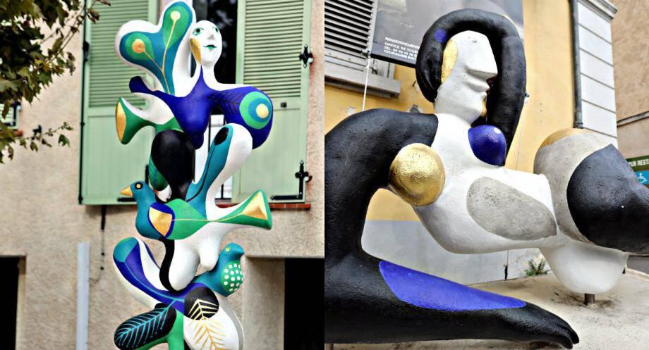 Les deux œuvres sont présentées depuis le début de l'exposition Monumentale, qui a débuté en avril 2015.