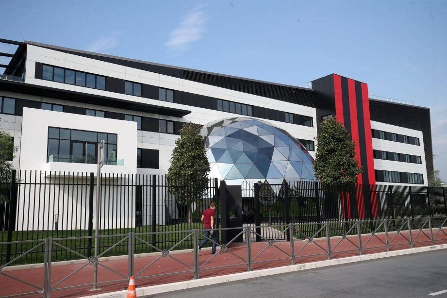 Le centre d'entrainement de L'OGC Nice.