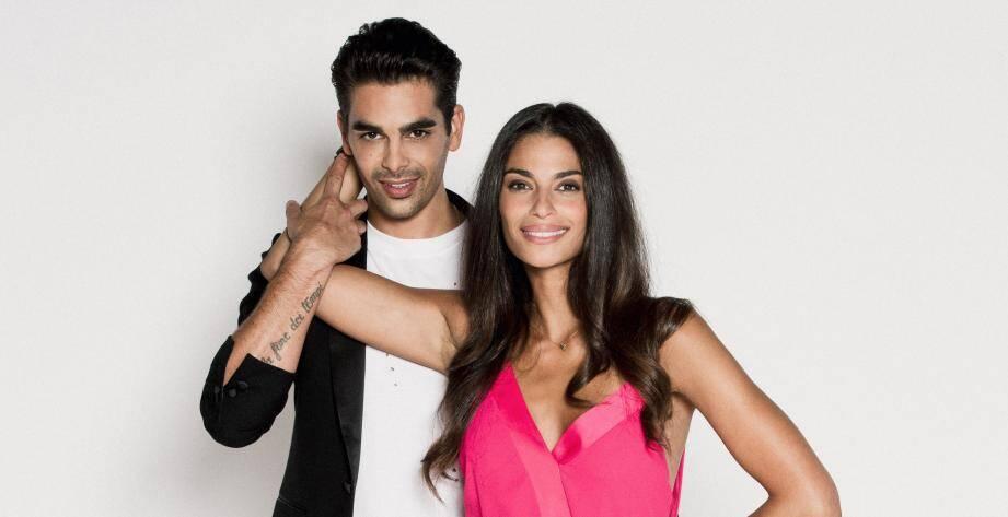 Christophe Licata avec sa partenaire de cette nouvelle saison de Danse avec les stars, Tatiana Silva.