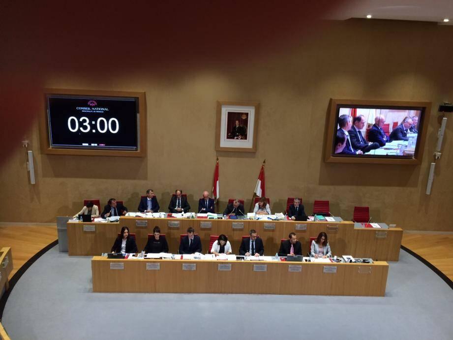 Gouvernement et conseil réunis pour le budget rectificatif 2017.