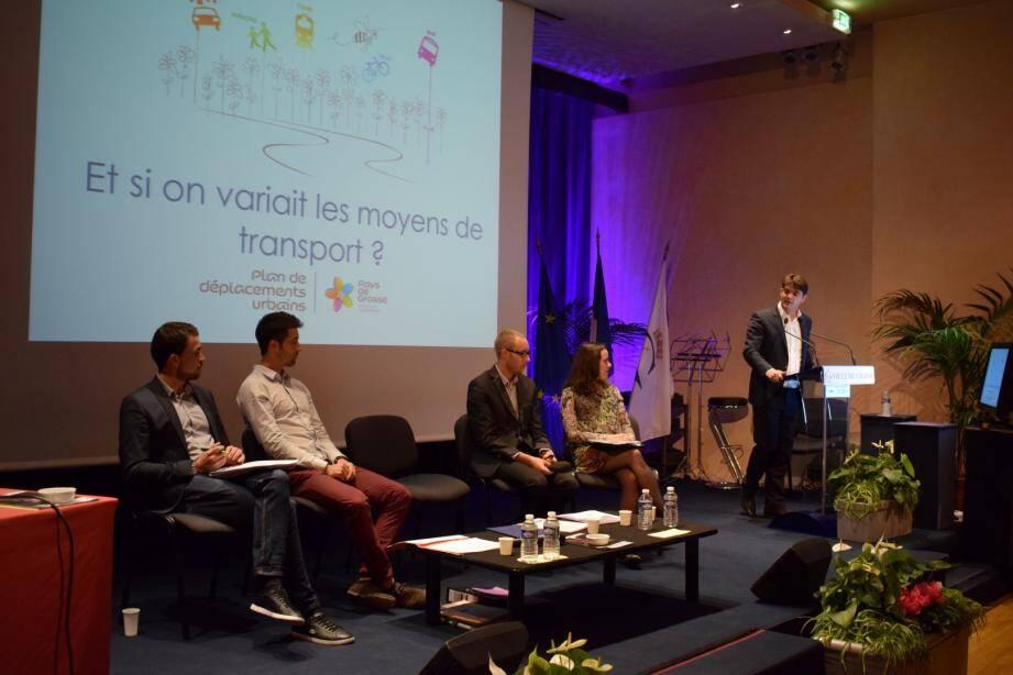 La Communauté d'agglomérations du Pays de Grasse a dévoilé au cours d'une réunion publique sa révision du Plan de déplacement urbain, qui s'étalera sur les prochaines années.