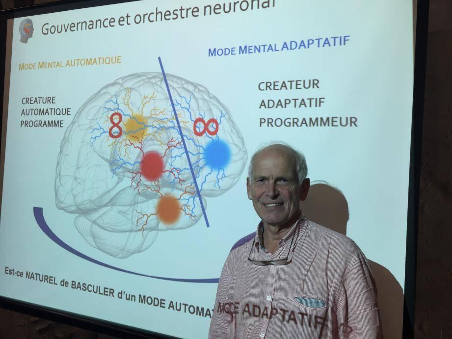 Pierre Moorkens, entrepreneur averti et fondateur de l'Institut de NeuroCognitivisme.
