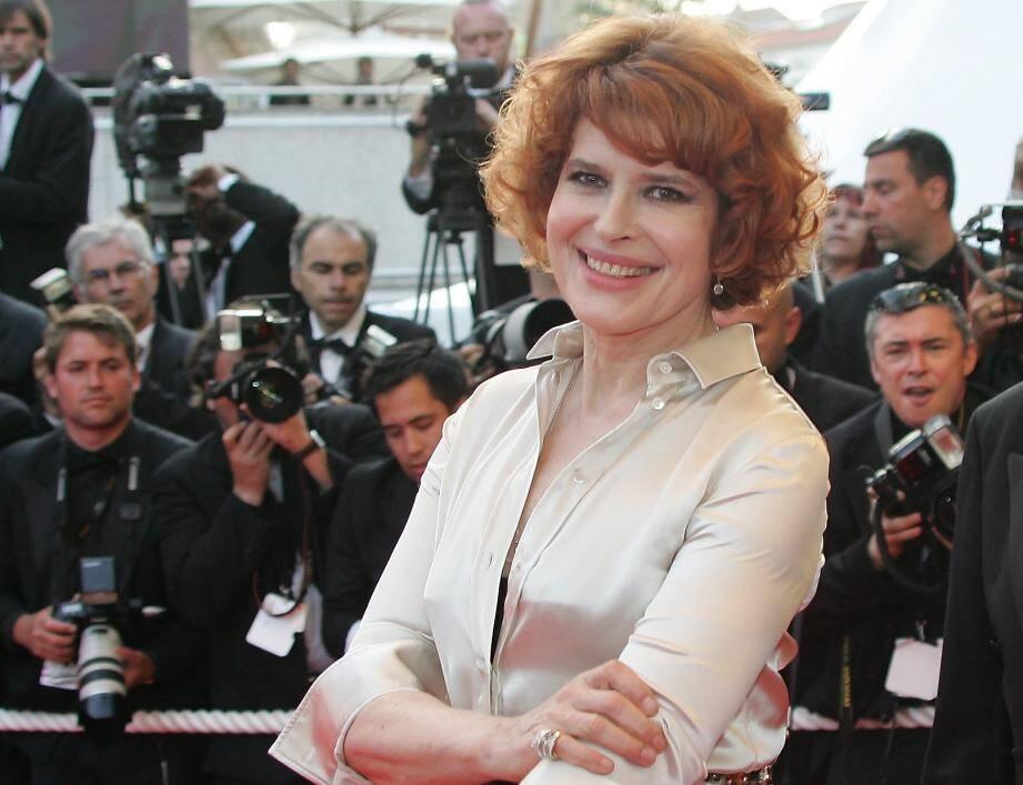 """La comédienne Fanny Ardant est au théâtre dans la région avec la pièce """"Croque-Monsieur""""."""