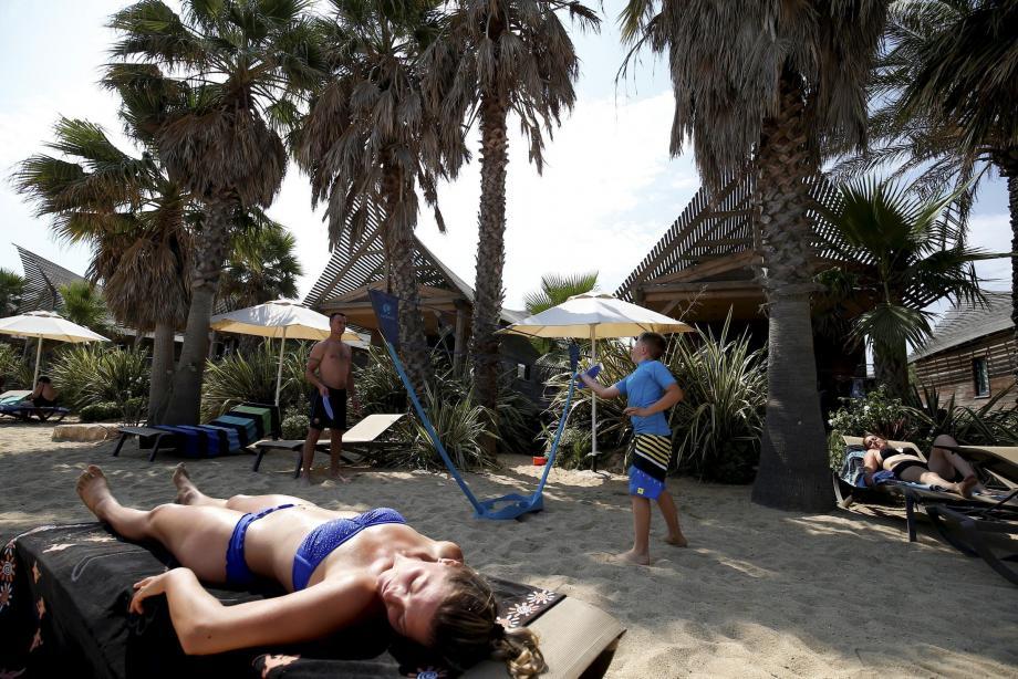 Les campings haut de gamme, comme ici les Prairies de la mer à Grimaud, ont largement contribué au succès de la saison touristique dans le Golfe.