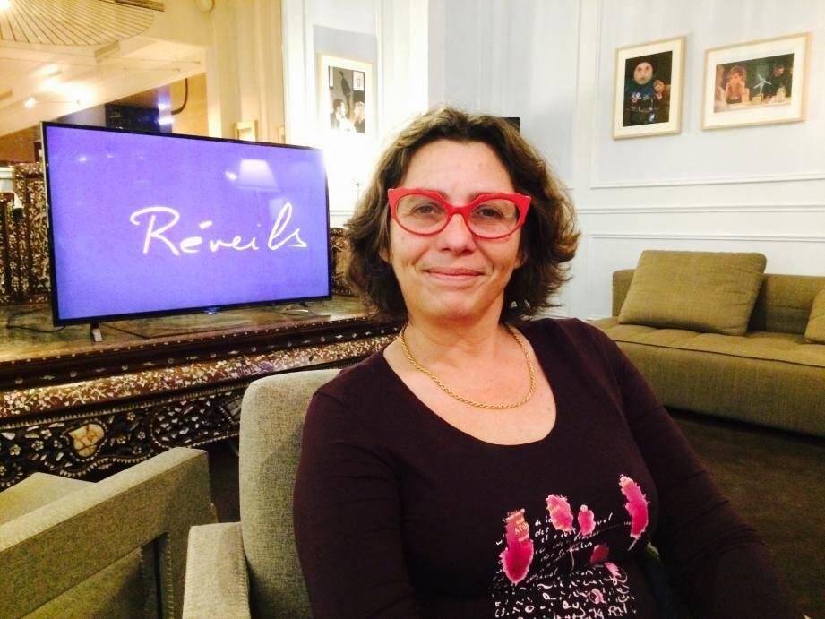 Odile Redolfi-Payen, la directrice de l'hôtel Windsor est passionnée d'art contemporain et d'art vidéo.