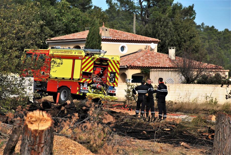 5.000 m² brûlés à Garéoult.