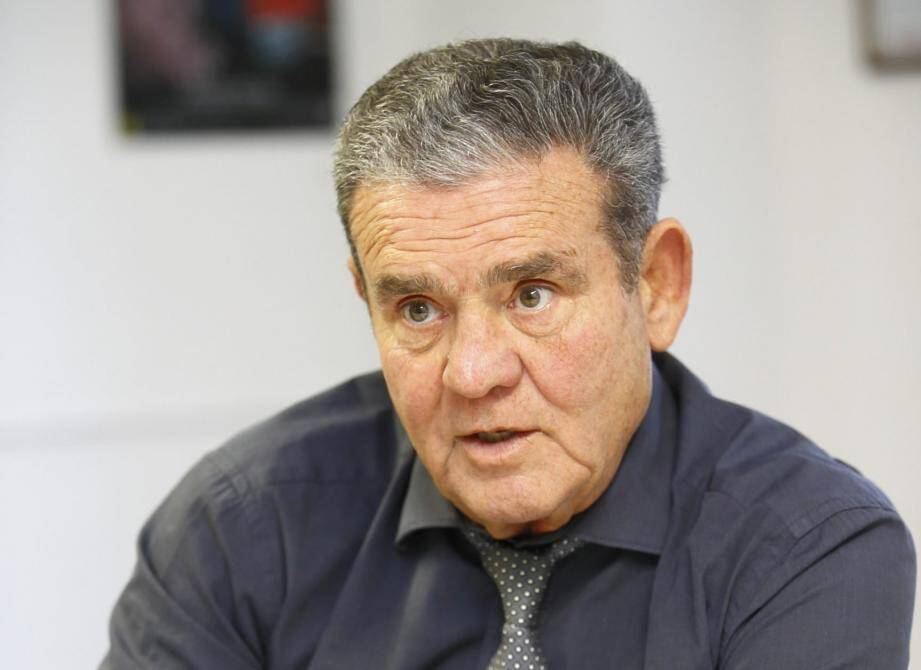 M. Henri Leroy maire de Mandelieu-la-Napoule Henri Leroy