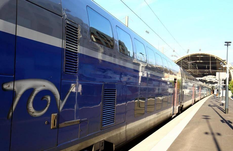 Illustration TGV.