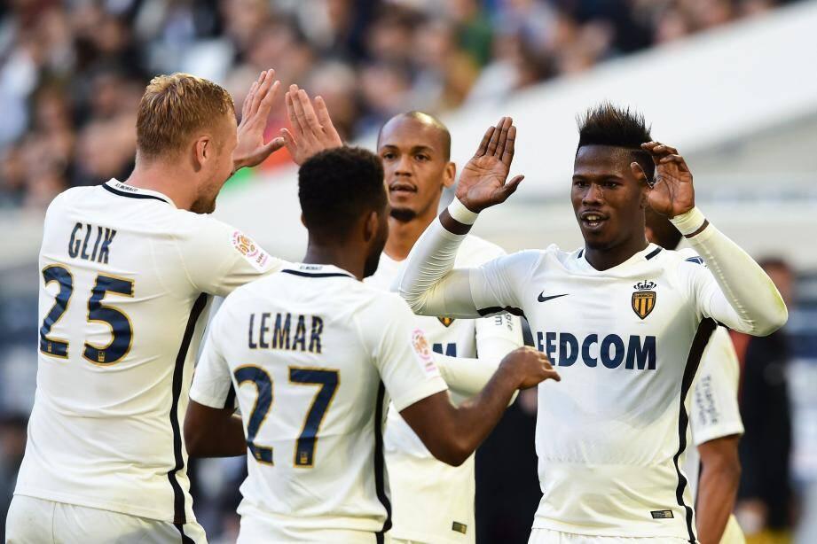 Monaco s'est imposée 2-0 sur la pelouse de Bordeaux.