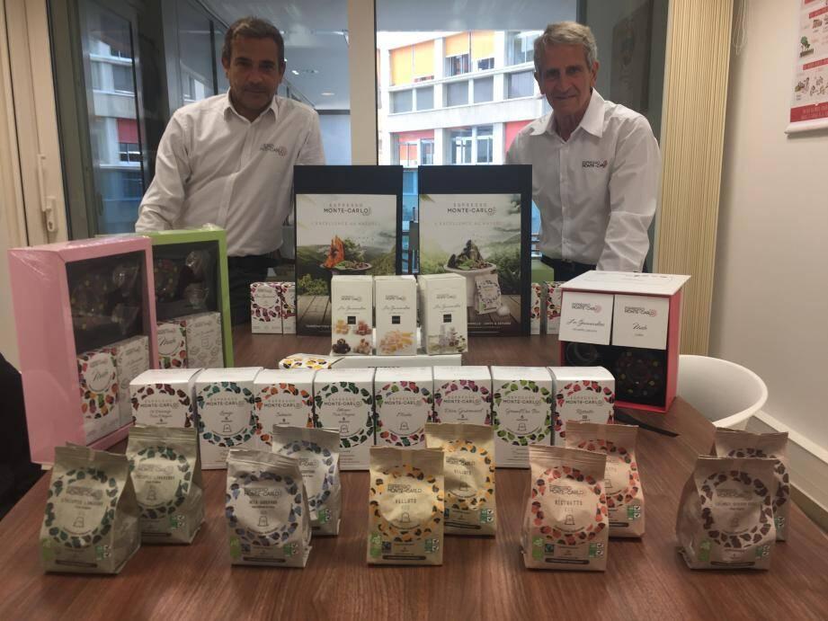 La marque monégasque a développé une gamme Premium et une gamme 100 % bio,  plus des cadeaux d'entreprise.