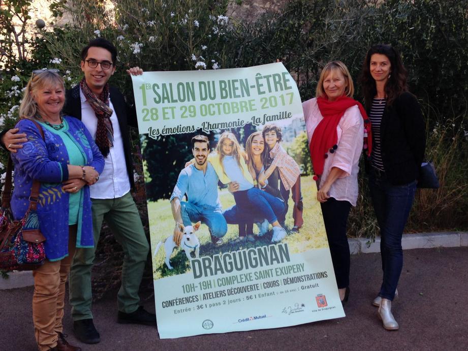 A l'initiative de l'adjointe déléguée à la santé, Brigitte Dubouis, un salon entièrement dédié à l'harmonie du corps, de l'âme et de l'esprit se tiendra les 28 et 29 octobre au complexe Saint-Exupéry.