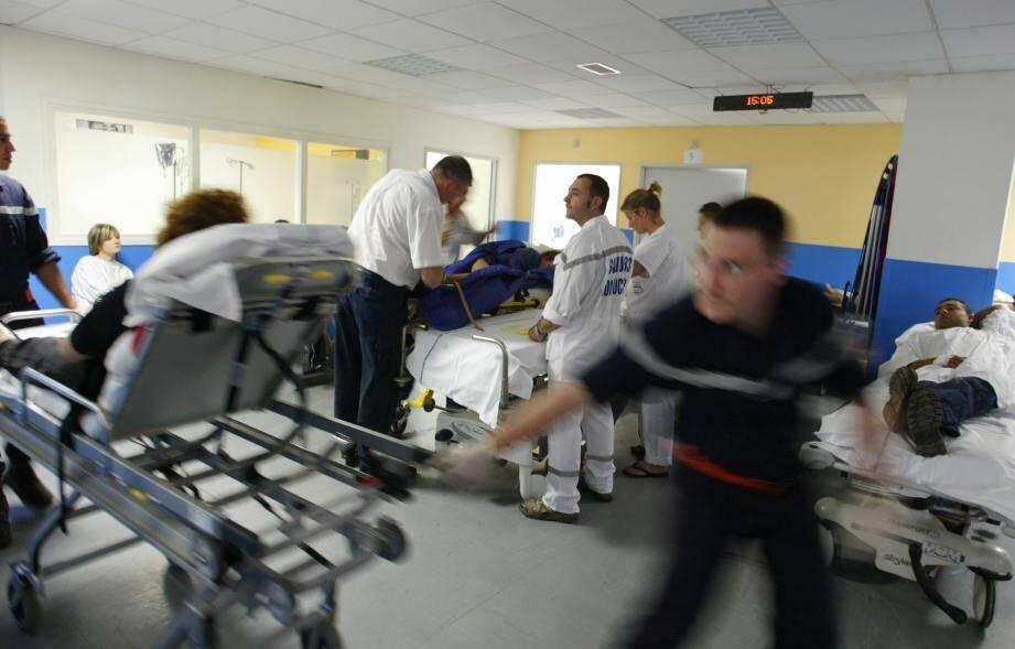 Image d'illustration du service des urgence de l'hôpital Bonnet à Fréjus.