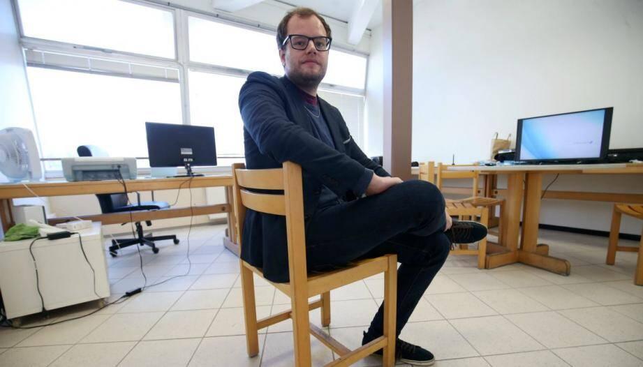 Clément, 26 ans, a monté sa start-up dans la couveuse de