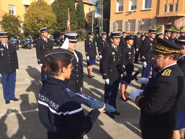 25 gendarmes ont été reçus à la caserne Ausseur.