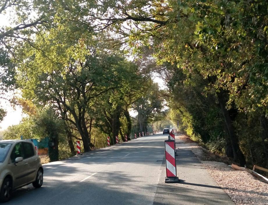 L'accident s'est produit sur la route qui relie Cogolin à Grimaud.