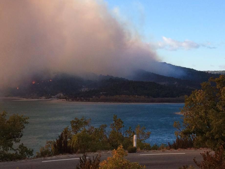 Dix hectares sont partis en fumée