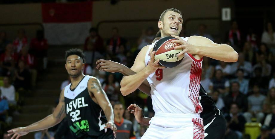 L'AS Monaco Basket reçoit Lyon-Villeurbanne (ASVEL)