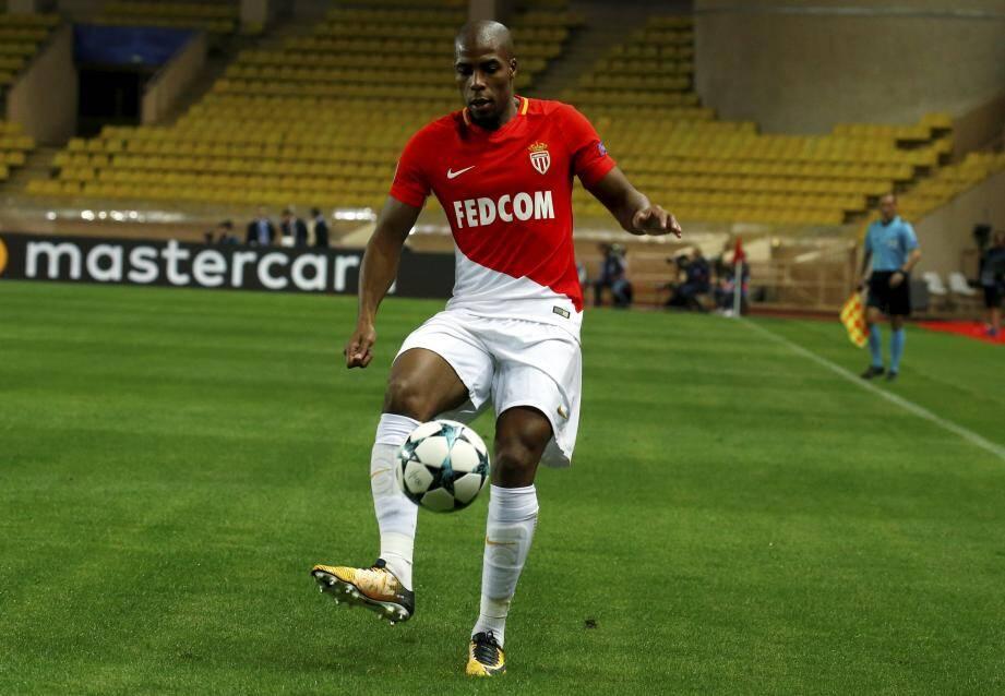 Le joueur Djibril Sidibé.