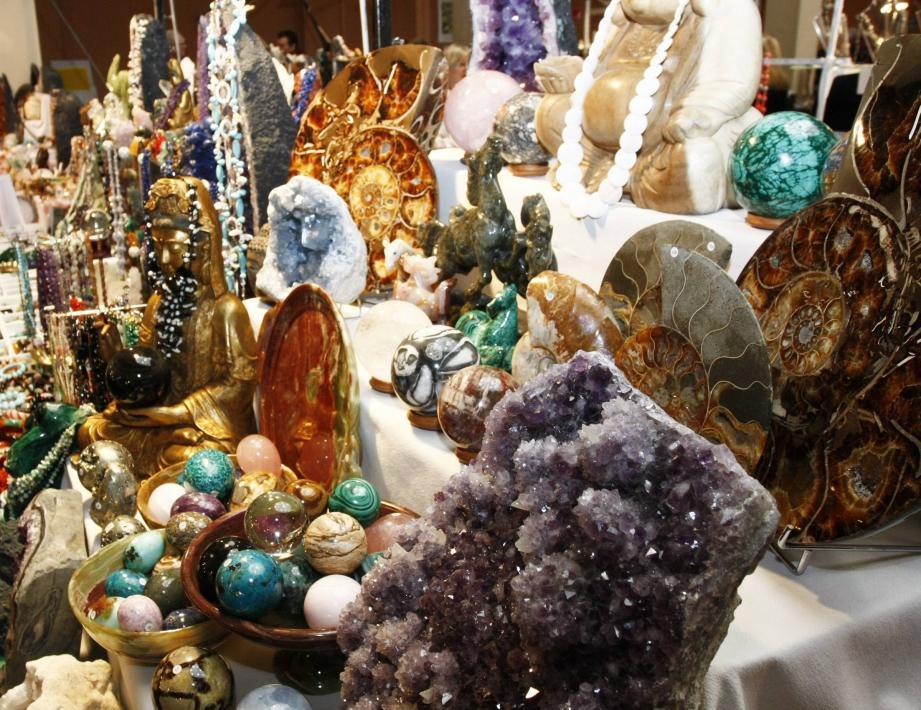 Un rendez-vous pour découvrir des pierres précieuses.
