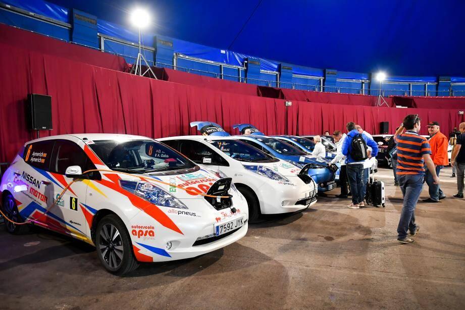 Le deuxième eRallye orchestré par l'Automobile club de Monaco se poursuit.