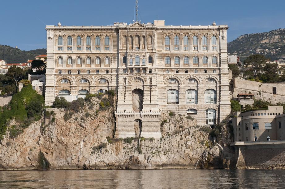 Le site de plongée se situe au pied du Musée océanographique