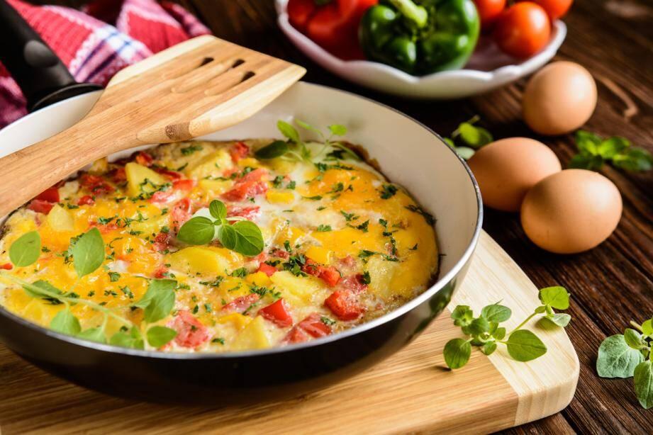 LA RECETTE DU JOUR. Omelette gourmande